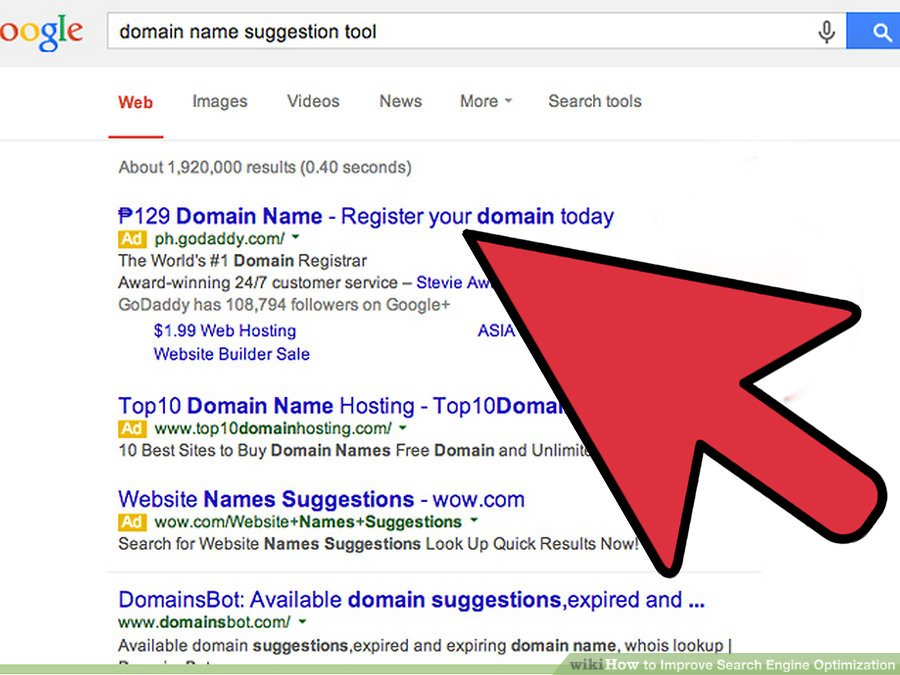Choose a good domain name